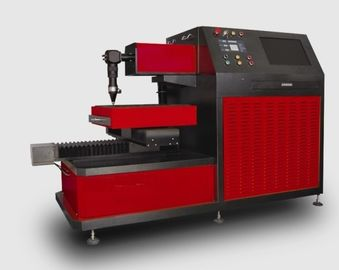 Cina Small Breadth YAG Laser Cutter for Metal Laser Cutting Industry , Three Phase 380V / 50Hz pemasok
