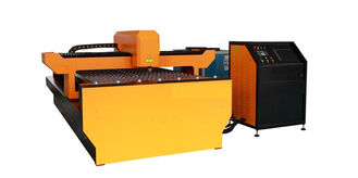 Cina Galvanized Steel YAG Laser Cutting Machine , Laser Power 650W for Advertising Trademark pemasok