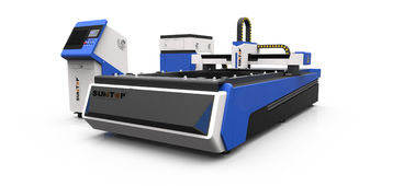 Cina 500W CNC fiber laser cutter for steel , brass and Alumnium industry processing pemasok