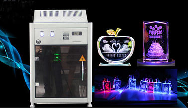 Cina 4000HZ 3D Crystal Laser Inner Engraving Machine 220,000 dots / Minute Speed pemasok
